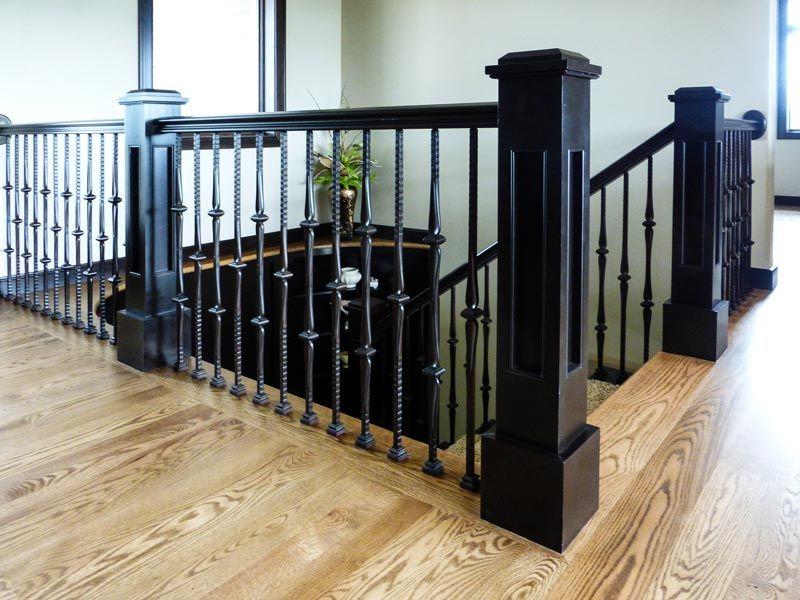 Modern custom stairway