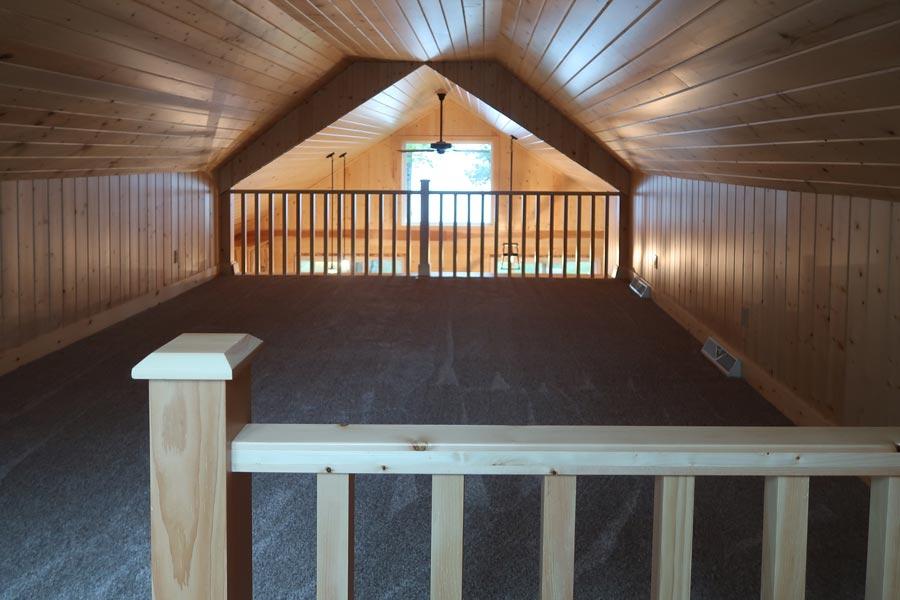 Wood Panel Loft